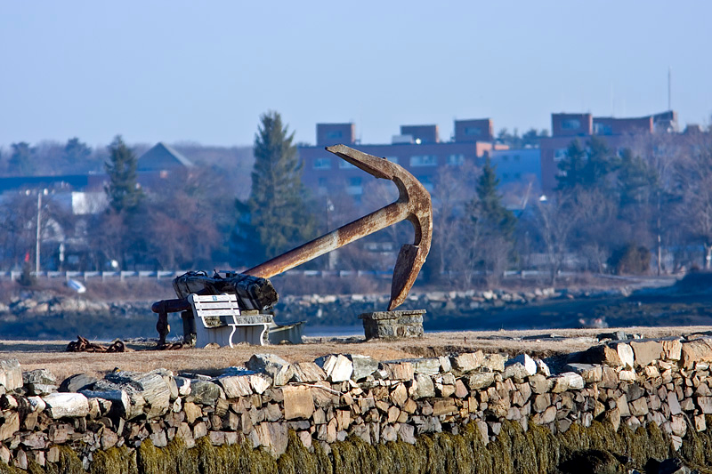 Old Anchor at Wentworth-Coolidge Mansion