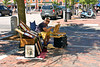 Artist at Market Square