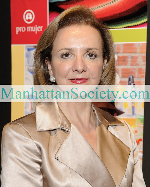 NEW YORK-OCTOBER 29: Rosario Pérez, Chief Executive Officer of Pro Mujer attends  PRO MUJER 2009 Benefit Celebration on Thursday, October 29, 2009 at Cipriani Wall Street, 55 Wall Street, New York City, NY. (Photo Credit: ©Manhattan Society.com 2009 by Gregory Partanio)