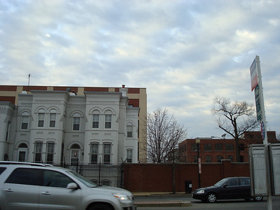 The Navy Yard, from across the street as I waiting for a bus to take me home.