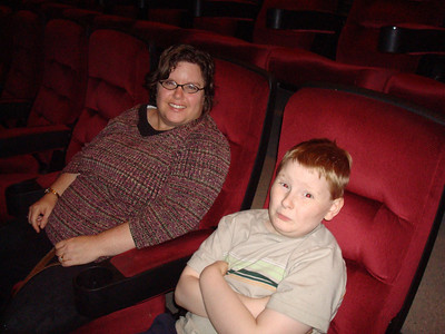 Aimee and Xander. I joined them to see Star Trek.