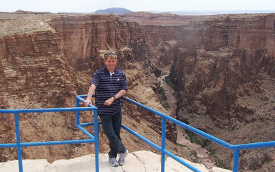 Little Colorado Scenic Overlook, near the entrance to Grand Canyon National Park