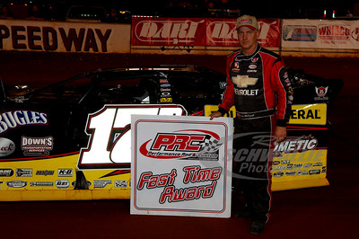 Dale McDowell won the PRC Fast Time Award