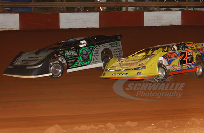0 Scott Bloomquist and 25 Shane Clanton