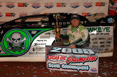 Scott Bloomquist - 2009 Lucas Oil Late Model Dirt Series Champion
