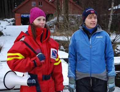 Måldommere: Janne og Cathrine