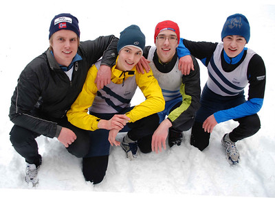 Mestre 2009: Njål, Thomas, Ludwig og Romari.