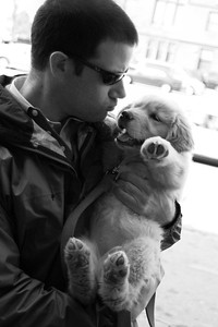 Matt and Rori (b&w)