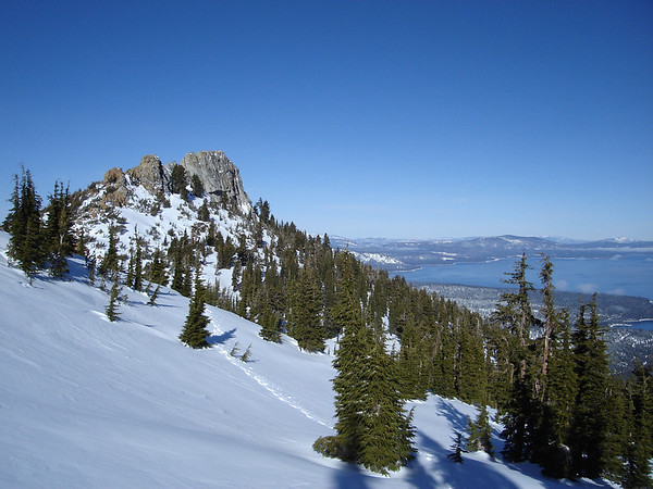 RUBICON PEAK/PEAK 9269: JANUARY 4, 2009