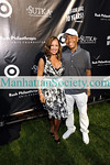 EAST HAMPTON-JULY 18: Vanessa Williams, Russell Simmons attend Rush Philanthropic Arts Foundation's 10th Anniversary ART FOR LIFE Benefit on Saturday, July 18, 2009 at Russell Simmons' East Hampton Estate, East Hampton, New York (Photo Credit: ManhattanSociety.com by Gregory Partanio)