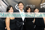 EAST HAMPTON-JULY 18: Arabella Oz, Dr. Mehmet Oz, Lisa Oz, Zoe Oz attend Rush Philanthropic Arts Foundation's 10th Anniversary ART FOR LIFE Benefit on Saturday, July 18, 2009 at Russell Simmons' East Hampton Estate, East Hampton, New York (Photo Credit: ManhattanSociety.com by Gregory Partanio)