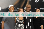 EAST HAMPTON-JULY 18: Russell Simmons, Vanessa Williams, Danny Simmons, Soledad O'Brien attend Rush Philanthropic Arts Foundation's 10th Anniversary ART FOR LIFE Benefit on Saturday, July 18, 2009 at Russell Simmons' East Hampton Estate, East Hampton, New York (Photo Credit: ManhattanSociety.com by Gregory Partanio)
