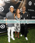 EAST HAMPTON-JULY 18: Russell Simmons, Vanessa Williams, Danny Simmons attend Rush Philanthropic Arts Foundation's 10th Anniversary ART FOR LIFE Benefit on Saturday, July 18, 2009 at Russell Simmons' East Hampton Estate, East Hampton, New York (Photo Credit: ManhattanSociety.com by Gregory Partanio)