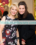New York-November 19:  Francine LeFrak, Gina Gershon attend Launch of SAME SKY—BRACELETS MADE BY WOMEN IN RWANDA on Thursday, November 19, 2009  at  Ana Tzarev Gallery, 24 West 57th Street, New York City, NY (PHOTO CREDIT:Copyright ©Manhattan Society.com 2009 by Gregory Partanio)