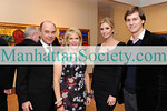 New York-November 19: Rick Friedberg, Francine LeFrak, Ivanka Trump Kushner, Jared Kushner attend FRANCINE LEFRAK'S Launch of SAME SKY—BRACELETS MADE BY WOMEN IN RWANDA on Thursday, November 19, 2009  at  Ana Tzarev Gallery, 24 West 57th Street, New York City, NY (PHOTO CREDIT:Copyright ©Manhattan Society.com 2009 by Gregory Partanio)