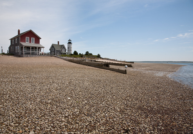 Front beach at low tide