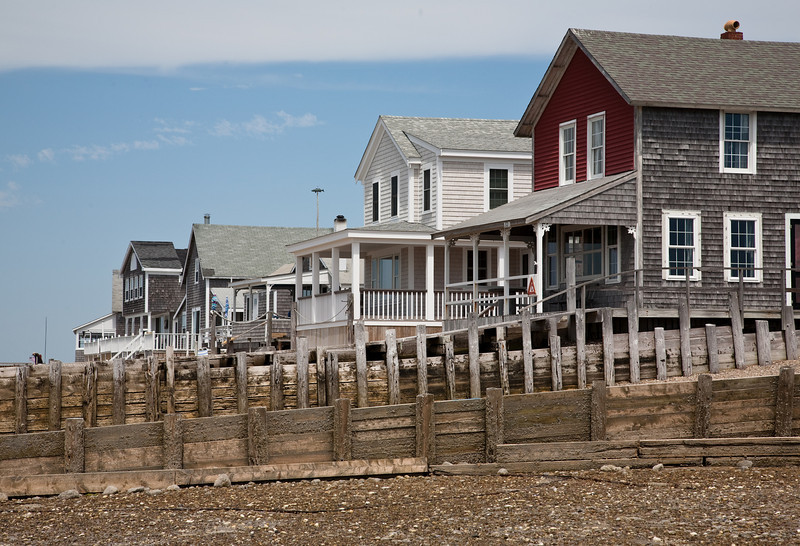 Cottages on front beach