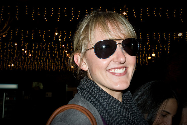 Adrienne being all cool