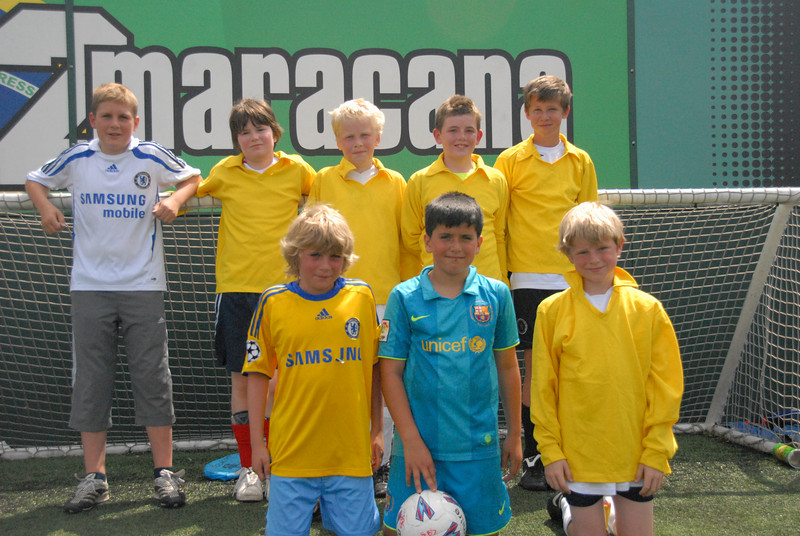 Under 13s Yellow Team