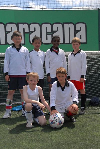 Under 13s White Team