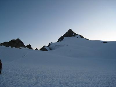 Climbing Mt Shuksan