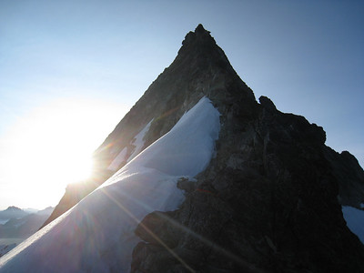 Forbidden's West Ridge at sunrise
