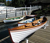 Rowboats at the Center for Wooden Boats