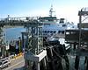 Ferry docking at Bainbridge Island