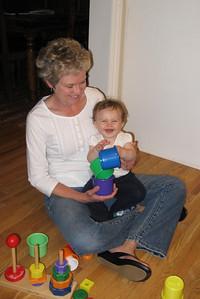 Playing games with Grandma Kapp