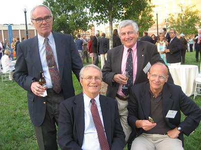 Georgetown Crew 50 Year Anniversary: Bill McNeil, Ben Domenico, Art Charles, Rick Reynolds