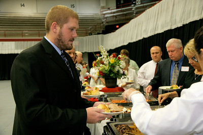 CSO Dinner in the LYCC; September 24, 2009.