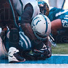 Tribune-Star/Joseph C. Garza<br /> Count on 29: Indianapolis running back Joseph Addai crashes into the endzone to score during the Colts' 14-12 win over the Jacksonville Jaguars Sunday in Indianapolis.