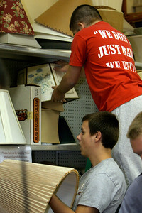 Service project in Raleigh, North Carolina; September 19, 2009.