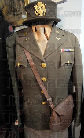 HISTORICAL TREAS: Women's Army uniform.