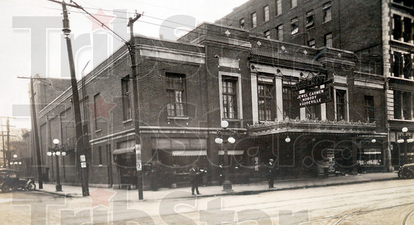 HISTORICAL TREAS: The Liberty Theater located next to Tribune Building on Wabash Avenue.