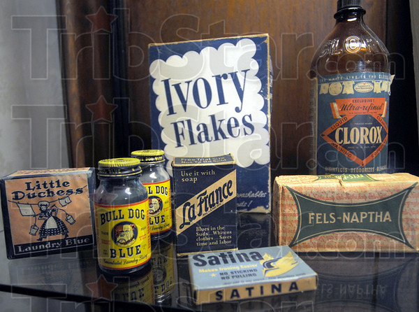 HISTORICAL TREAS: Cleaning supplies.