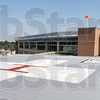 Tribune-Star/Bob Poynter<br /> Progress: Union Hospital will have a heliport atop the newly construction main building.