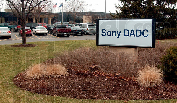 Growth: Main entrance to Sony DADC.