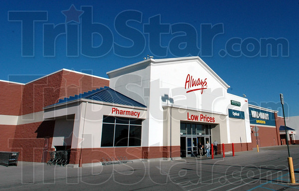 Big box: Walmart dominates the Sycamore Terrace Shopping Center on State Road 46 near Margaret Avenue.