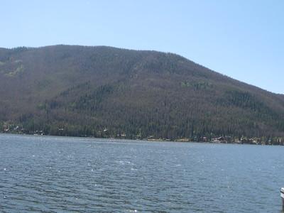 Shadow Mountain Reservoir near Grand Lake, CO