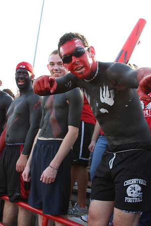 Gardner-Webb vs. Mars Hill Lions crowd.