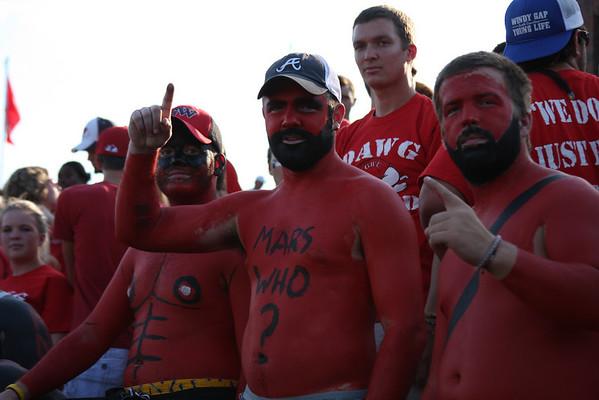 Gardner-Webb vs. Mars Hill Lions crowd.