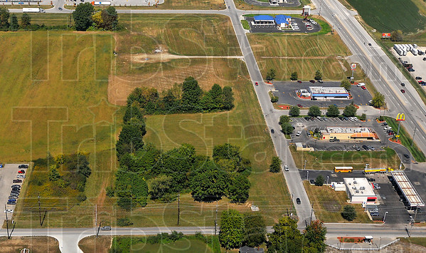 More rooms: A Holiday Inn Express will be built along Joe Fox Street on about 3 acres of land extending north from Margaret Avenue, which is along the bottom of this photo.