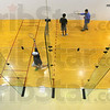 We'll play here: Indiana State University will host and International raquetball tournament on its courts in the Arena.