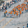 Tribune-Star/Joseph C. Garza<br /> Local labor: Members of Plumbers & Steam Fitters Local 157 march in the Labor Day Parade down Wabash Avenue Monday.