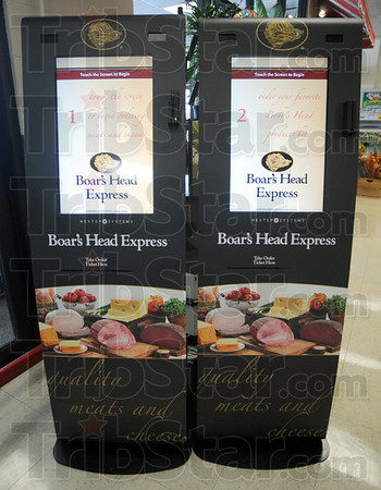 Deli kiosk: The touch-screen station at the entrance to Baesler's Market allows customers to input their order and continue shopping while it's being prepared. A cell phone call or text message to the customer notifies them when the order is ready for pick-up.