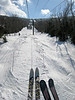 Up the mountain, long boards and short