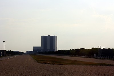 The Crawlerway, between Launch Pad 39-B and the Vehicle Assembly Building (VAB)