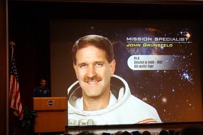 STS-125 Mission Specialist John Grunsfeld