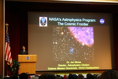 Dr. Jon Morse, Director of NASA's Astrophysics Division